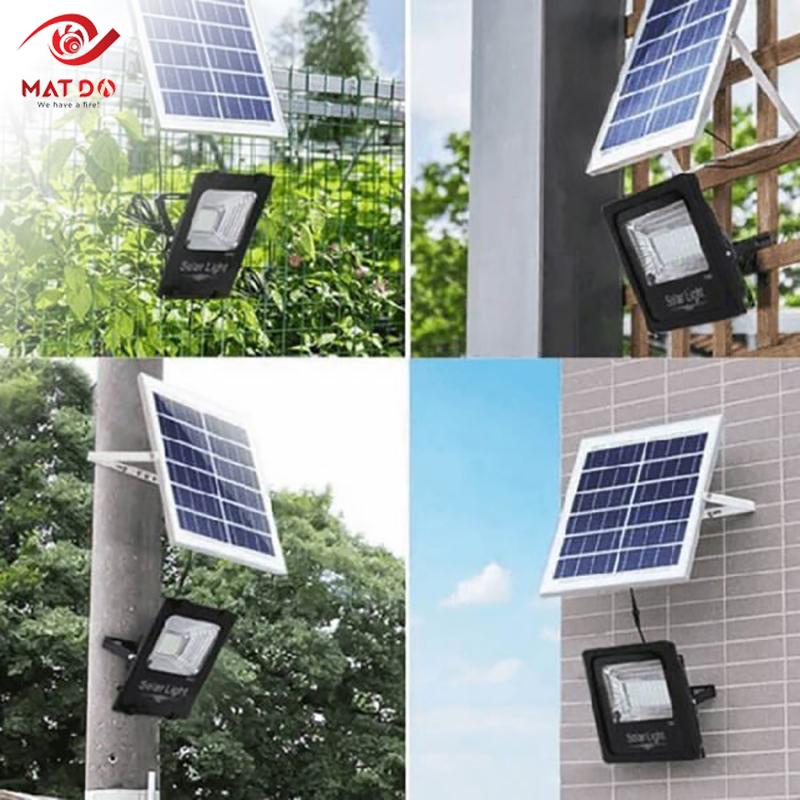 Nơi bán đèn pha năng lượng mặt trời 100W